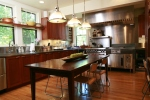 Caterer's home kitchen